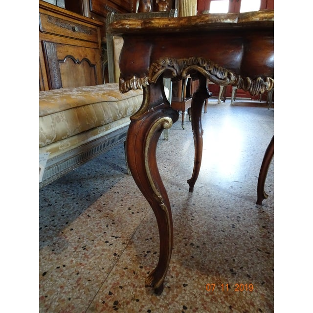 Traditional 19th Century Portuguese Side Table For Sale - Image 3 of 10