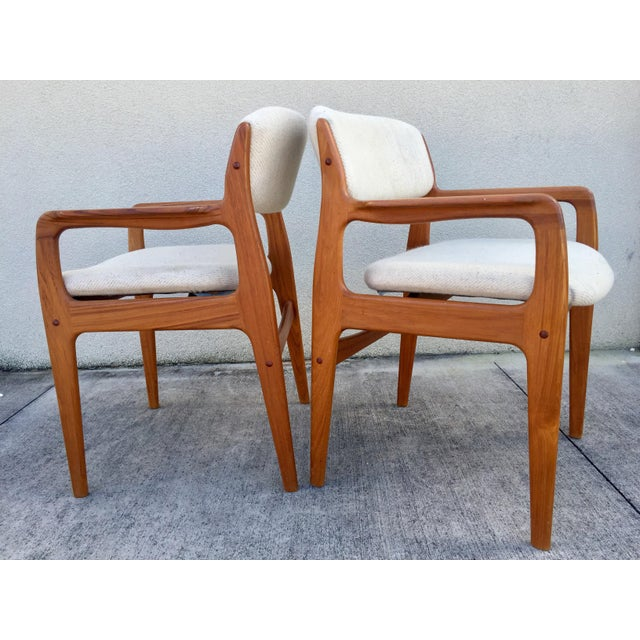 Mid-Century Benny Linden Dining Chairs - 6 For Sale - Image 5 of 10