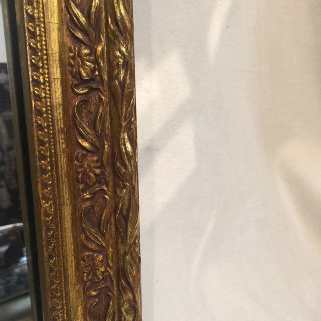Traditional Carved Gold Gilded Mirror - Image 4 of 9
