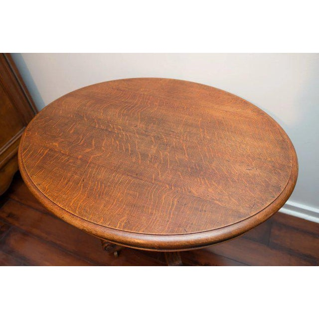 19th Century Louis Philippe Oval Table Normandy France For Sale - Image 6 of 9