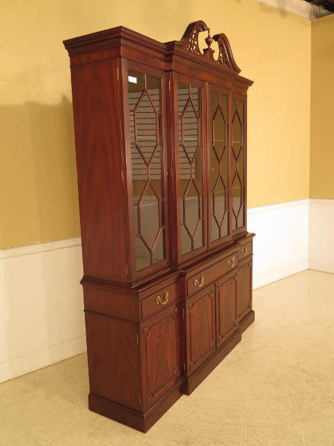 Merveilleux Traditional Kittinger Richmond Hill Collection Mahogany Cabinet For Sale    Image 3 Of 11