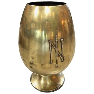 Giant Napoleonic Egg-Shaped Urn, Italy, 19th Century For Sale