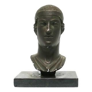 Greek or Roman Head Bust Sculpture, 1965 For Sale