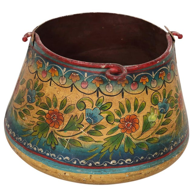 Vintage Metal Planter Bucket - Image 3 of 3