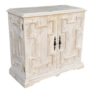 Very Nice Cfc Co. Reclaimed Lumber Gothic Cabinet Model #Cfc-Ow237 For Sale
