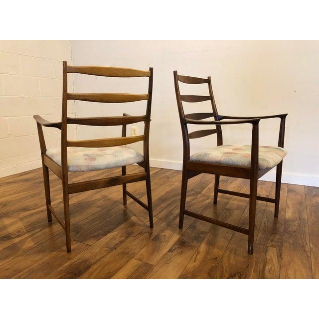 Vamo Sonderborg Rosewood Mid Century Armchairs by Torbjorn Afdal for Vamo Sonderborg -A Pair For Sale - Image 4 of 13