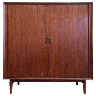 Danish Modern Highboy Dresser by Arne Vodder for Sibast Mobler For Sale