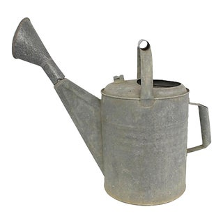 French Zinc Watering Can For Sale