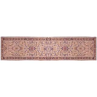 1930s Antique Persian Hamadan Rug - 16′6″ × 2′6″ For Sale