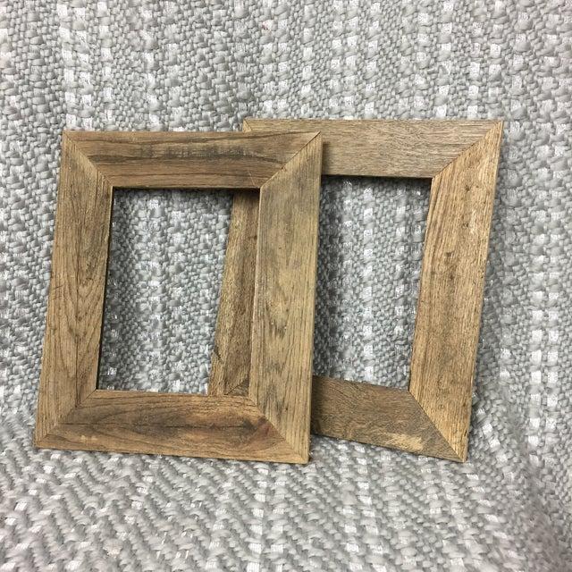 Set Of 2 Barnwood Picture Frames Chairish