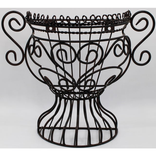 French Garden Wall Jardiniere For Sale - Image 12 of 12