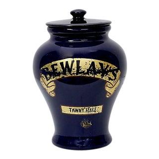 1920s Royal Doulton Bewlay's Tobacco Shop Jar For Sale