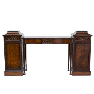 19th Century Georgian Pedestal or Console Sideboard For Sale