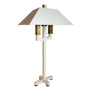 Postmodern Bouillotte Lamp by Hart Associates For Sale