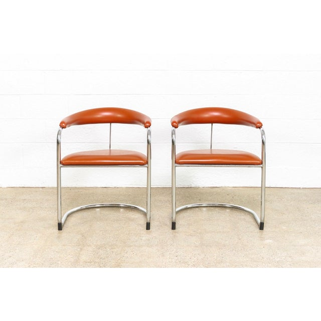 Bauhaus Mid Century Anton Lorenz Cantilever Chairs For Sale - Image 3 of 11