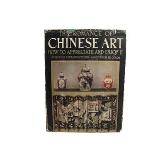 "1936 ""The Romance of Chinese Art"" Illustrated Book"