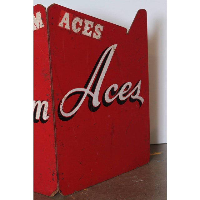 Art Deco Art Deco Painted Wood Bandstand Rhythm Aces from 1930s-1940s For Sale - Image 3 of 11