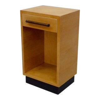 Compact Gilbert Rohde for Herman Miller American Ash Nightstand For Sale