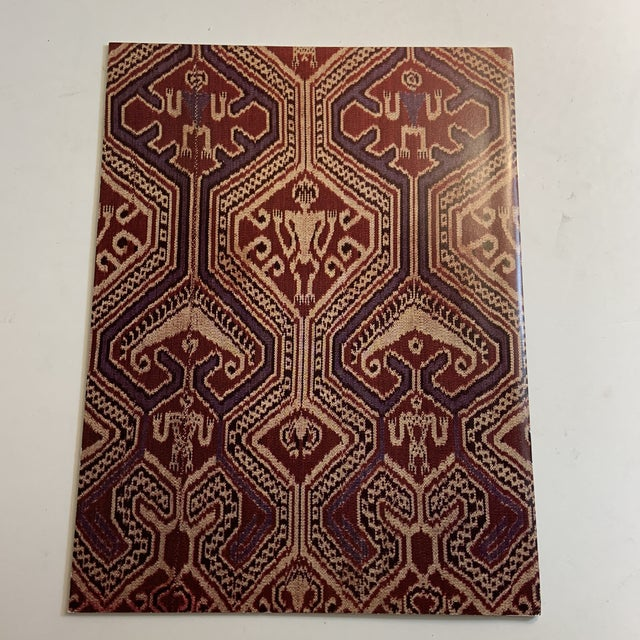 Threads of Life A Private Collection of Textiles from Indonesia and Sarawak, The Katonah Gallery, 1981, 24 pp.,...