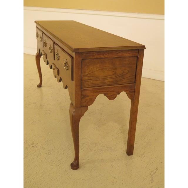 Wood Baker English Style Oak & Walnut Sideboard For Sale - Image 7 of 12