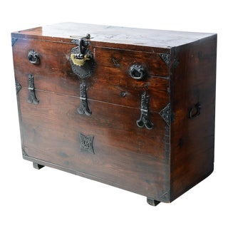 "Early 19th Century Japanese ""Tansu"" Chest For Sale"