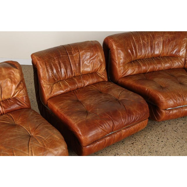 Five Piece Sectional Sofa For Sale - Image 4 of 6