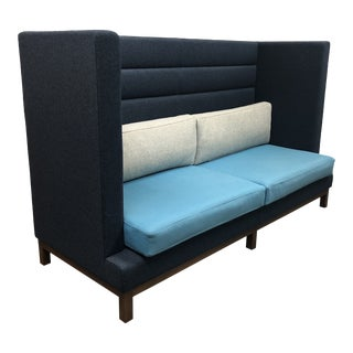Arthur Custom Settee + Banquette by Lyndon Design For Sale