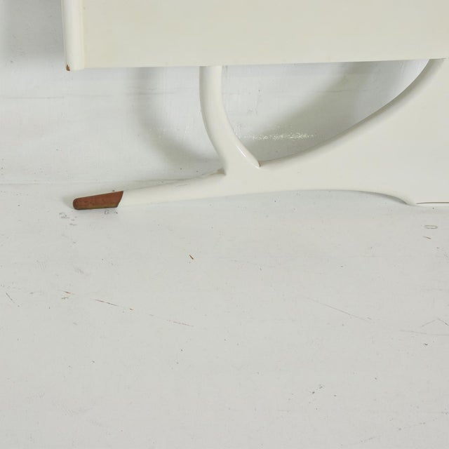 Mid Century Mexican Modernist King Size Headboard For Sale - Image 9 of 10
