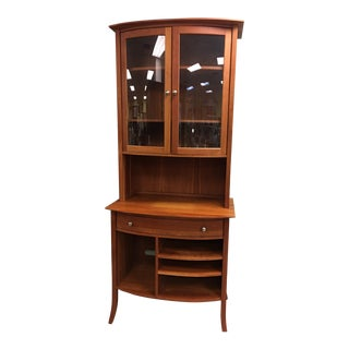Danish Modern Pompanoosuc Mills Tall Cabinet Buffet Hutch For Sale