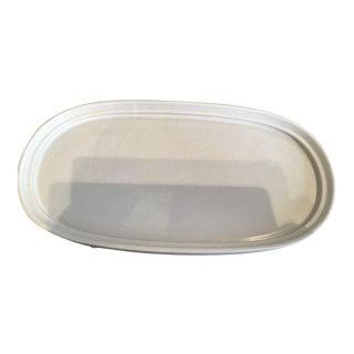 Minimalist Rosenthal White Oval China Platter