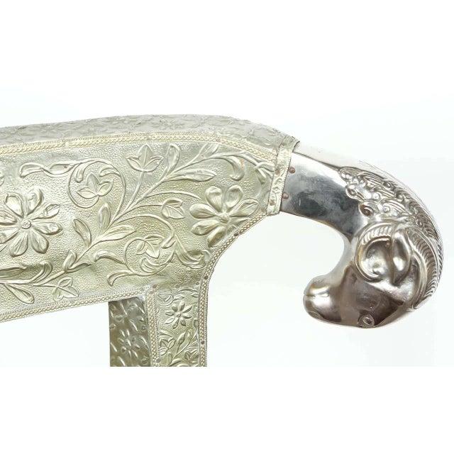 Anglo Raj Wedding Side Chair For Sale - Image 4 of 8