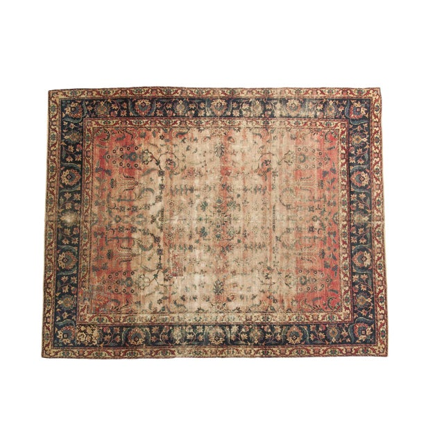 Antique Yazd Carpet - 8' x 10' - Image 1 of 10