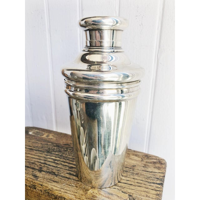 Metal Antique Tiffany and Co Sterling Cocktail Shaker For Sale - Image 7 of 12