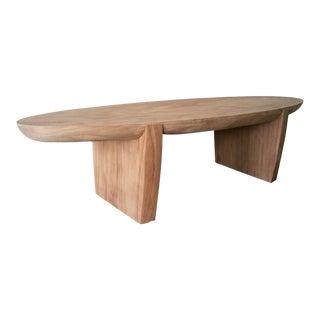 Organic Modern Monkey Pod Cigar Coffee Table For Sale