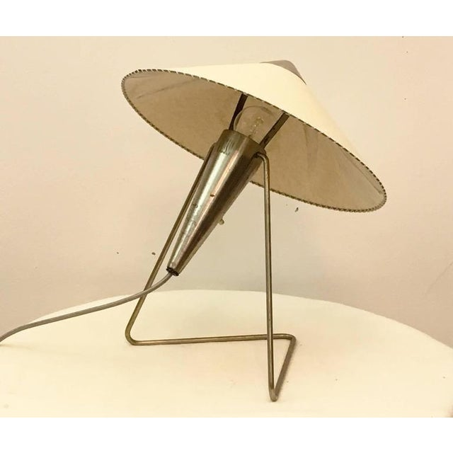 1950s Czech Modernist Table Lamp by Helena Frantova for Okolo, 1950s For Sale - Image 5 of 11