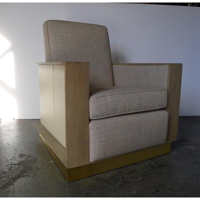 Modern Max Modern Club Chair by Paul Marra For Sale - Image 3 of 12