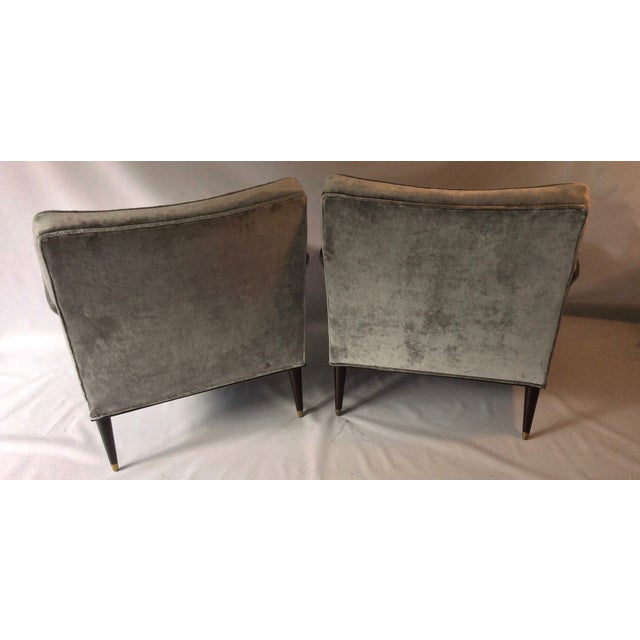Mid-Century Probber Attr. Lounge Chairs - Pair - Image 8 of 10