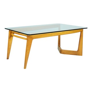 1950s Mid-Century Modern Pierluigi Giordani Biomorphic Dining Table For Sale