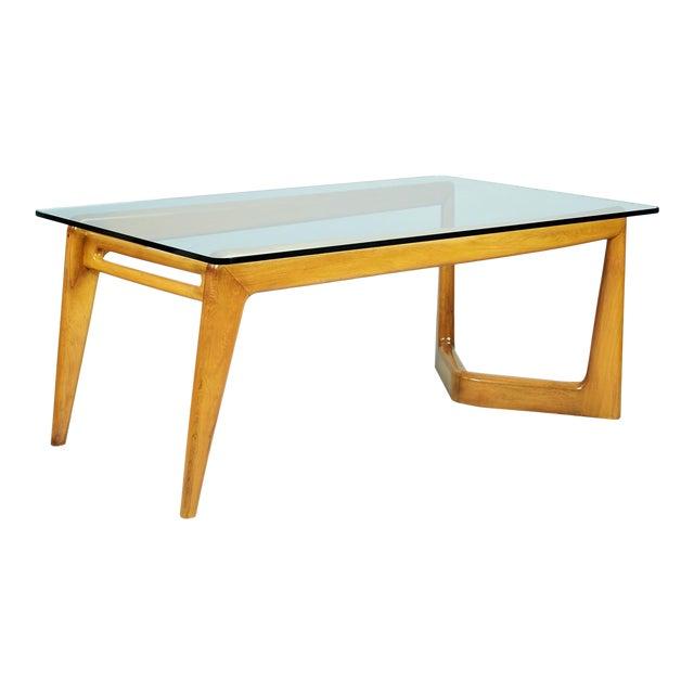 1950s Mid-Century Modern Pierluigi Giordani Biomorphic Dining Table For Sale