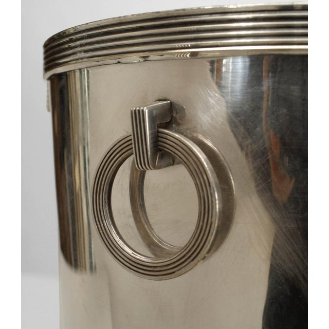 American Art Deco Chrome Plated Champagne Bucket For Sale - Image 4 of 5
