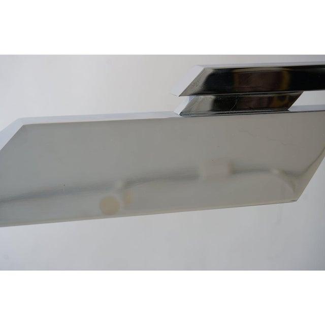 Vintage Casella Style Floor Lamp - Adjustable Polished Chrome For Sale - Image 9 of 11