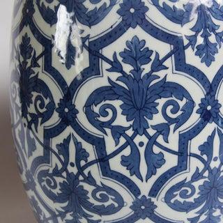 Blue & White Ceramic Garden Stool Preview