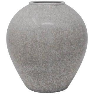 Porcelain Vase With Crackle Glaze by Kpm For Sale
