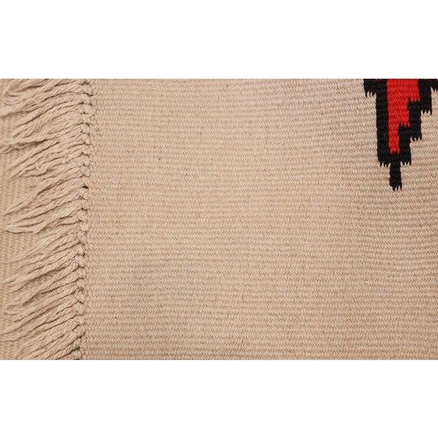 Vintage French Kilim Rug by Antonin Kybal - 4′3″ × 10′10″ For Sale In New York - Image 6 of 8