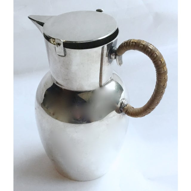 Mid-Century Modern WMF German Silverplated Pitcher For Sale - Image 5 of 9