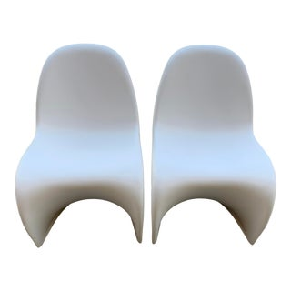 Panton Style Mid-Century Modern Chairs-a Pair For Sale