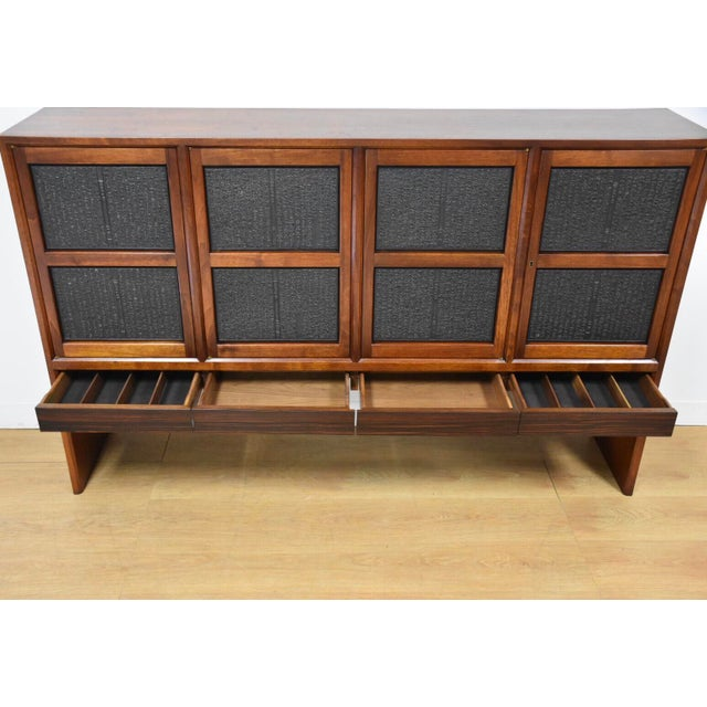 Edward Wormley for Dunbar Janus Credenza For Sale - Image 10 of 13
