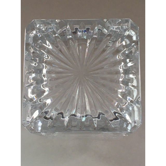 Towle Silversmiths Towle Crystal Decanter For Sale - Image 4 of 7