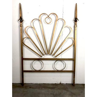Pair of Hollywood Regency Gilt Twin Headboards Preview