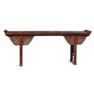 Antique Chinese Dragon Altar For Sale